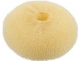 Voňavky, Parfémy, kozmetika Valček na účesy, okrúhly, svetlý, 110 mm - Lussoni Hair Bun Ring Yellow
