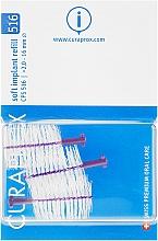 Voňavky, Parfémy, kozmetika Sada medzizubných kefiek pre implantáty, CPS 516, 3ks - Curaprox Soft Implant