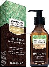 Voňavky, Parfémy, kozmetika Sérum na vlasy s kokosovým olejom - Arganicare Coconut Hair Serum For Dull, Very Dry & Frizzy Hair