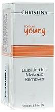 Voňavky, Parfémy, kozmetika Odstraňovač make-upu - Christina Forever Young Dual Action Make Up Remover