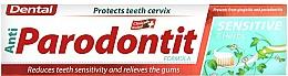 Voňavky, Parfémy, kozmetika Zubná pasta pre citlivé zuby - Dental Anti-Parodontit Sensitive 7 Herbs