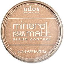 Voňavky, Parfémy, kozmetika Púder na tvár - Ados MINERAL MATT