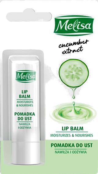 Balzam na pery s extraktom z uhoriek - Uroda Melisa Cucumber Extract Lip Balm