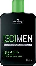 Voňavky, Parfémy, kozmetika Šampón na vlasy a telo - Schwarzkopf Professional 3D Mension Hair & Body Shampoo