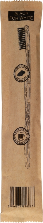 Zubná kefka bambusová, mäkká - Biomika Natural Bamboo Toothbrush — Obrázky N2