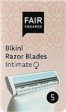 Voňavky, Parfémy, kozmetika Náhradné holiace kazety - Fair Squared Bikini Razor Blades