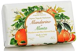 """Voňavky, Parfémy, kozmetika Prírodné mydlo """"Mandarinka a mäta"""" - Saponificio Artigianale Fiorentino Tangerine & Mint Soap"""