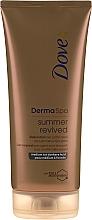 Voňavky, Parfémy, kozmetika Bronzujúci lotion na telo - Dove Derma Spa Summer Revived Medium To Dark Skin Body Lotion
