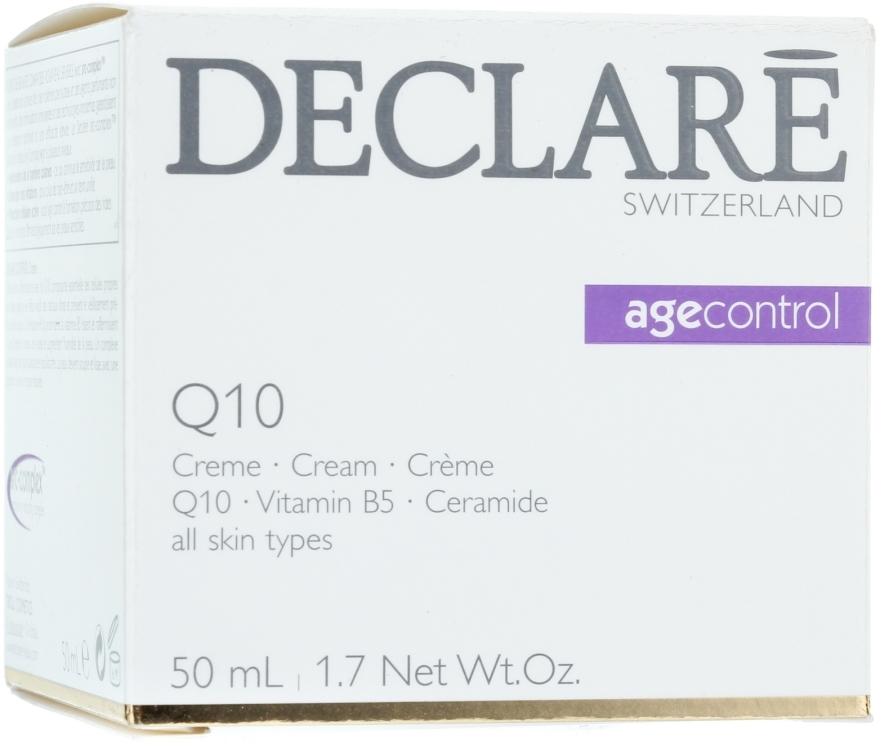 Omladzujúci krém s koenzýmom Q10 - Declare Q10 Age Control Cream — Obrázky N1