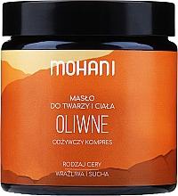 """Voňavky, Parfémy, kozmetika Olej na tvár a telo """"Olivový"""" - Mohani Olive Rich Batter"""