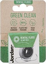 Voňavky, Parfémy, kozmetika Zubná niť, 30 m - Jordan Green Clean Dental Floss