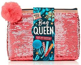 Voňavky, Parfémy, kozmetika Sada - Dirty Works Queen Night Out Essentials (lip/stick/2.8ml + b/spray/10ml + nail/file/1pcs + bag)