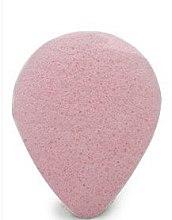 Voňavky, Parfémy, kozmetika Špongia na umývanie, kvapka, s ružovou hlinkou - Bebevisa Konjac Sponge