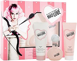 Voňavky, Parfémy, kozmetika Katy Perry Katy Perry's Mad Love - Sada (Edp/50ml + b/lotion/75ml + sh/gel/75ml)