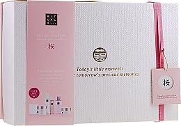 Voňavky, Parfémy, kozmetika Sada - Rituals The Ritual of Sakura Ceremony XL (b/scrub/250ml + s/gel/200ml + b/cr/200ml + soap/300ml + b/mist/50ml + candle/290g)