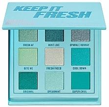 Voňavky, Parfémy, kozmetika Paleta očných tieňov - Makeup Obsession Keep It Fresh Shadow Palette