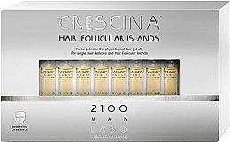 Voňavky, Parfémy, kozmetika Lotion na stimuláciu rastu vlasov pre mužov 2100 - Labo Crescina Hair Follicular Island 2100 Man
