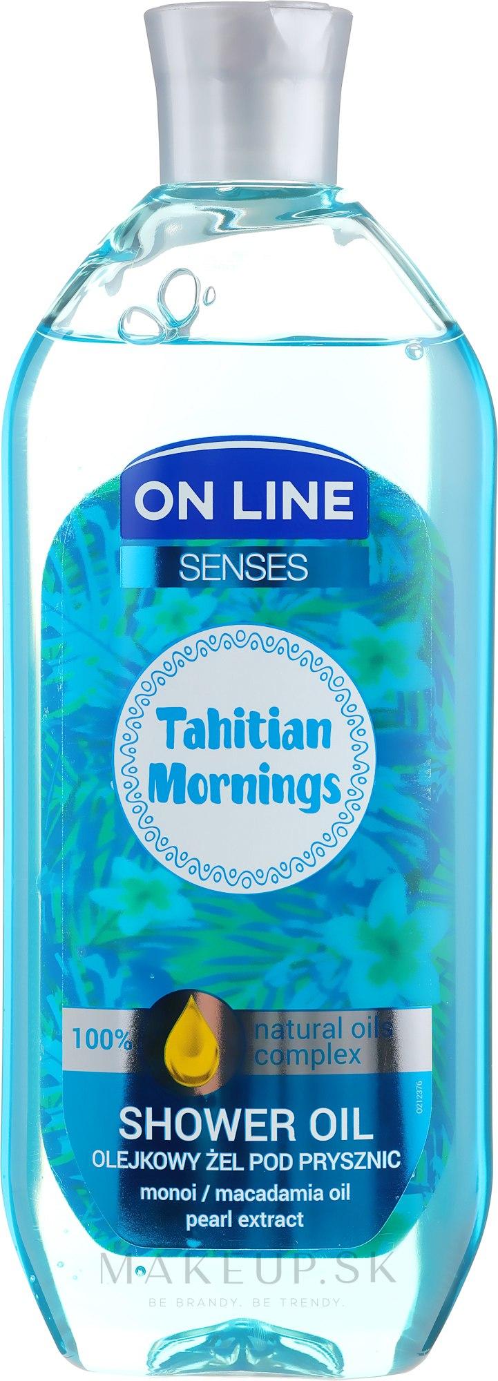 Sprchový olej - On Line Senses Shower Oil Tahitian Morning — Obrázky 500 ml