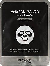 """Voňavky, Parfémy, kozmetika Látková maska na tvár vo zvieracom štýle """"Panda"""" - Bioaqua Animal Panda Tender Mask"""