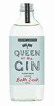 "Voňavky, Parfémy, kozmetika Pena do kúpeľa ""Baza"" - Bath House Barefoot & Beautiful Queen Of The Gin Elderflower Bath Soak"