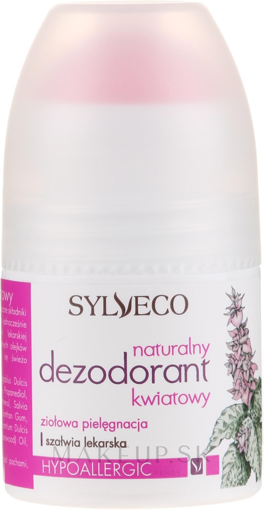 Prírodný deodorant - Sylveco — Obrázky 50 ml