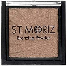 Voňavky, Parfémy, kozmetika Bronzer na tvár - St. Moriz Bronzing Powder (9 g)