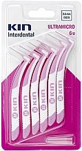 Voňavky, Parfémy, kozmetika Medzizubná kefka 0,6 mm - Kin Ultramicro ISO 0