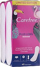 Voňavky, Parfémy, kozmetika Hygienické vložky 2X40ks - Carefree Plus Long