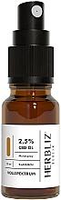 """Voňavky, Parfémy, kozmetika Olejový ústny sprej """"Klasický"""" 2,5% - Herbliz CBD Classic Full Spectrum Oil Mouth Spray 2,5%"""