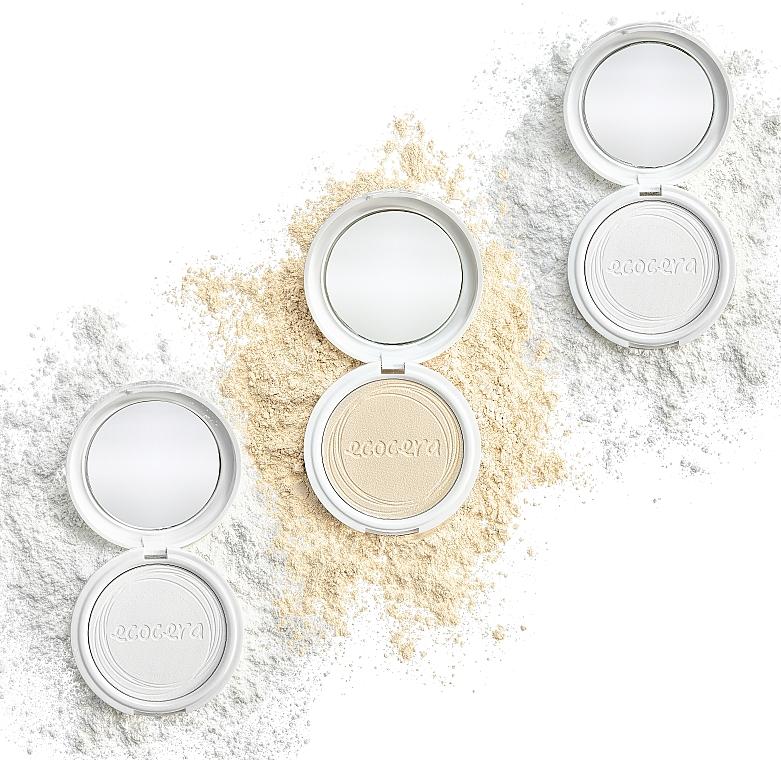 Lisovaný jačmeňový púder na tvár - Ecocera Barlay Pressed Powder — Obrázky N5