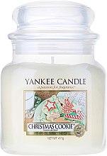 Voňavky, Parfémy, kozmetika Vonná sviečka v plechovke - Yankee Candle Christmas Cookie