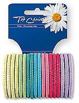Voňavky, Parfémy, kozmetika Vlasové gumičky 18 ks , farebný mix, 22180 - Top Choice