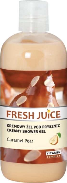 """Krémový sprchový gél """"Karamelová hruška"""" - Fresh Juice Caramel Pear Creamy Shower Gel"""
