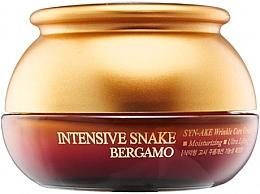 Voňavky, Parfémy, kozmetika Anti-aging krém s extraktom z hadieho jedu - Bergamo Intensive Snake Wrinkle Care Cream