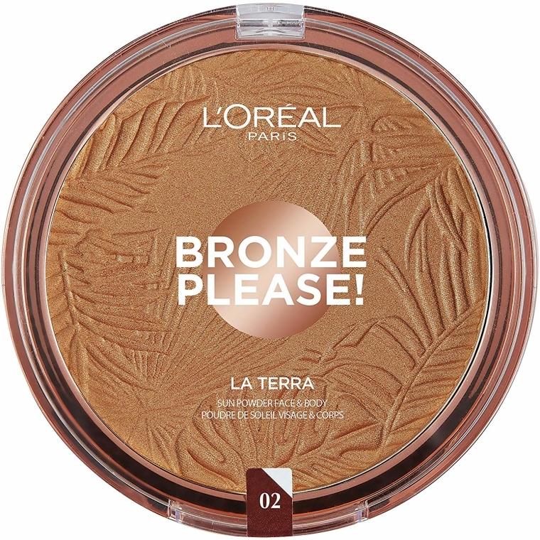Bronzer na tvár - L'Oreal Paris La Terra Joli Bronze Bronzer