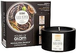 Voňavky, Parfémy, kozmetika Vonná sviečka - House of Glam Black Pepper&Coffee Candle