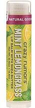 Voňavky, Parfémy, kozmetika Balzam na pery - Crazy Rumors Peppermint Lemongrass Lip Balm