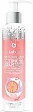 """Voňavky, Parfémy, kozmetika Balzam na ruky a telo """"Červený grapefruit"""" - Kabos Red Grapefruit Hand & Body Lotion"""