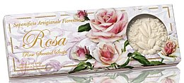 """Voňavky, Parfémy, kozmetika Sada prírodných mydiel """"Ruža"""" - Saponificio Artigianale Fiorentino Rosa Scented Soaps (soap/3pcsx125g)"""