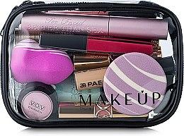 """Voňavky, Parfémy, kozmetika Kozmetická taška priehľadná """"Visible Bag"""" 15x10x5 cm (bez kozmetických prostriedkov) - MakeUp"""