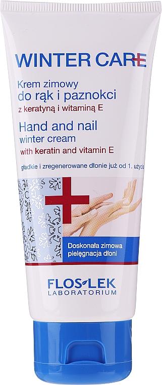 Zimný krém na ruky a nechty - Floslek Winter Care Hand And Nail Winter Cream