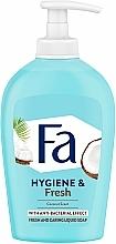 "Voňavky, Parfémy, kozmetika Tekuté mydlo ""Kokosová voda"" - Fa Coconut Water Soap"