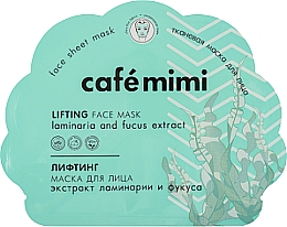 Voňavky, Parfémy, kozmetika Lifting-maska na tvár - Cafe Mimi Lifting Fase Mask Laminaria and Fucus Extract