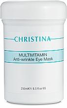 Voňavky, Parfémy, kozmetika Multivitamínová maska pre očné okolie - Christina Multivitamin Anti-Wrinkle Eye Mask