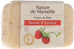 Voňavky, Parfémy, kozmetika Ovsené mydlo s aromou lesných jahôd - Nature de Marseille Soap