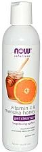 Voňavky, Parfémy, kozmetika Gél na umývanie s vitamínom C - Now Foods Vitamin C & Manuka Honey Gel Cleanser