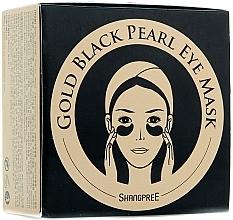 Voňavky, Parfémy, kozmetika Hydrogélová maska s púdrom z čiernych perál na kontúry očí - Shangpree Gold Hydrogel Eye Mask