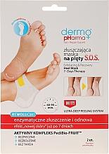 Voňavky, Parfémy, kozmetika Exfoliačná maska na päty - Dermo Pharma Skin Repair Expert