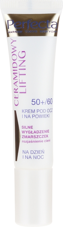 Krém na viečka - Perfecta Ceramid Lift 50+/60+ Eye Cream — Obrázky N2