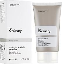 Voňavky, Parfémy, kozmetika Maska na tvár s 2% kyselinou salicylovou - The Ordinary Salicylic Acid 2% Masque